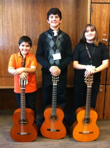 Congratulations to WTMA guitarists.